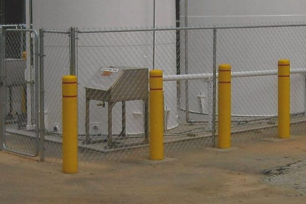 Field Post Guard Yellow